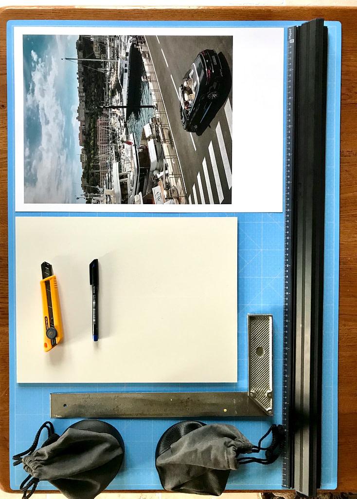 Les outils pour un contrecollage simple sur Panexpan