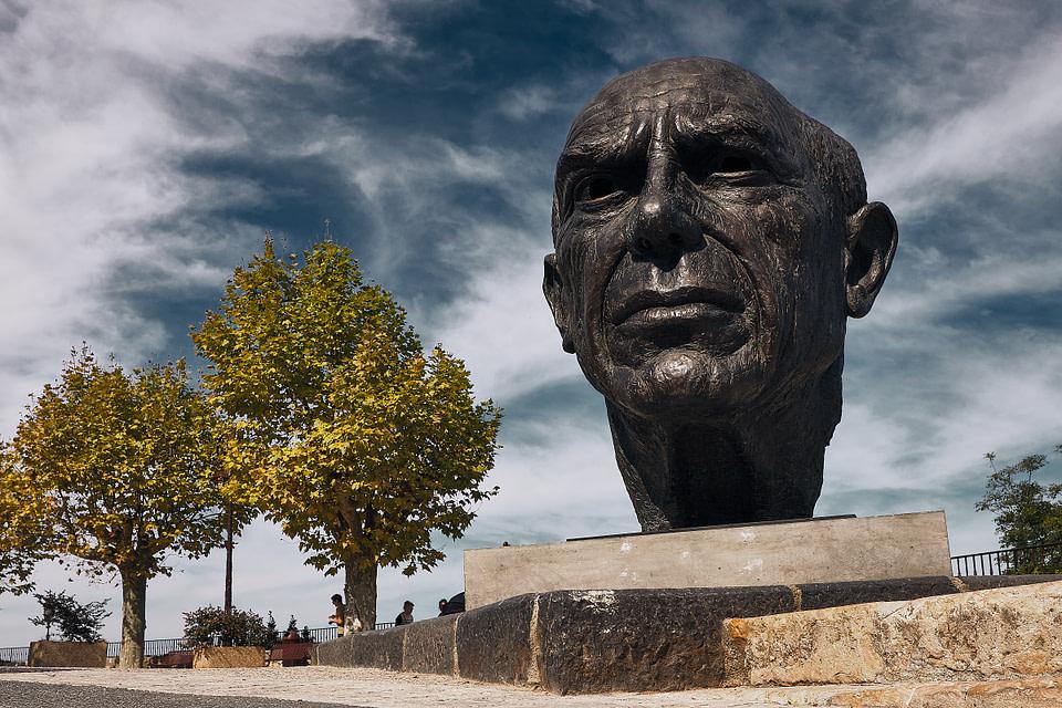 Pablo, Picasso par Sterk à Mougins