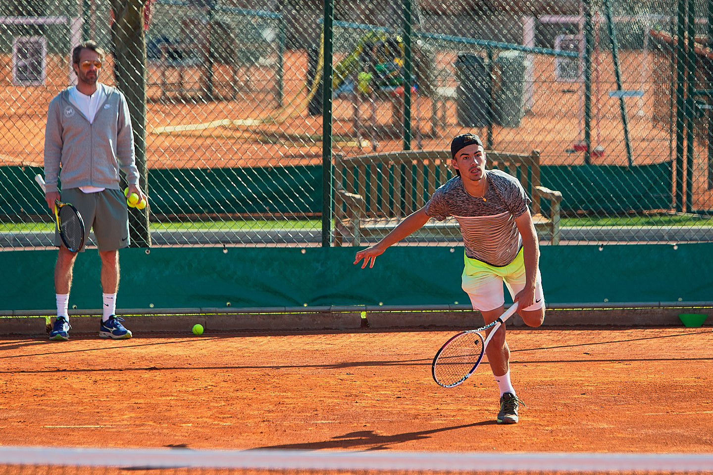 PRACTICE ON CLAY • MOURATOGLOU ACADEMY