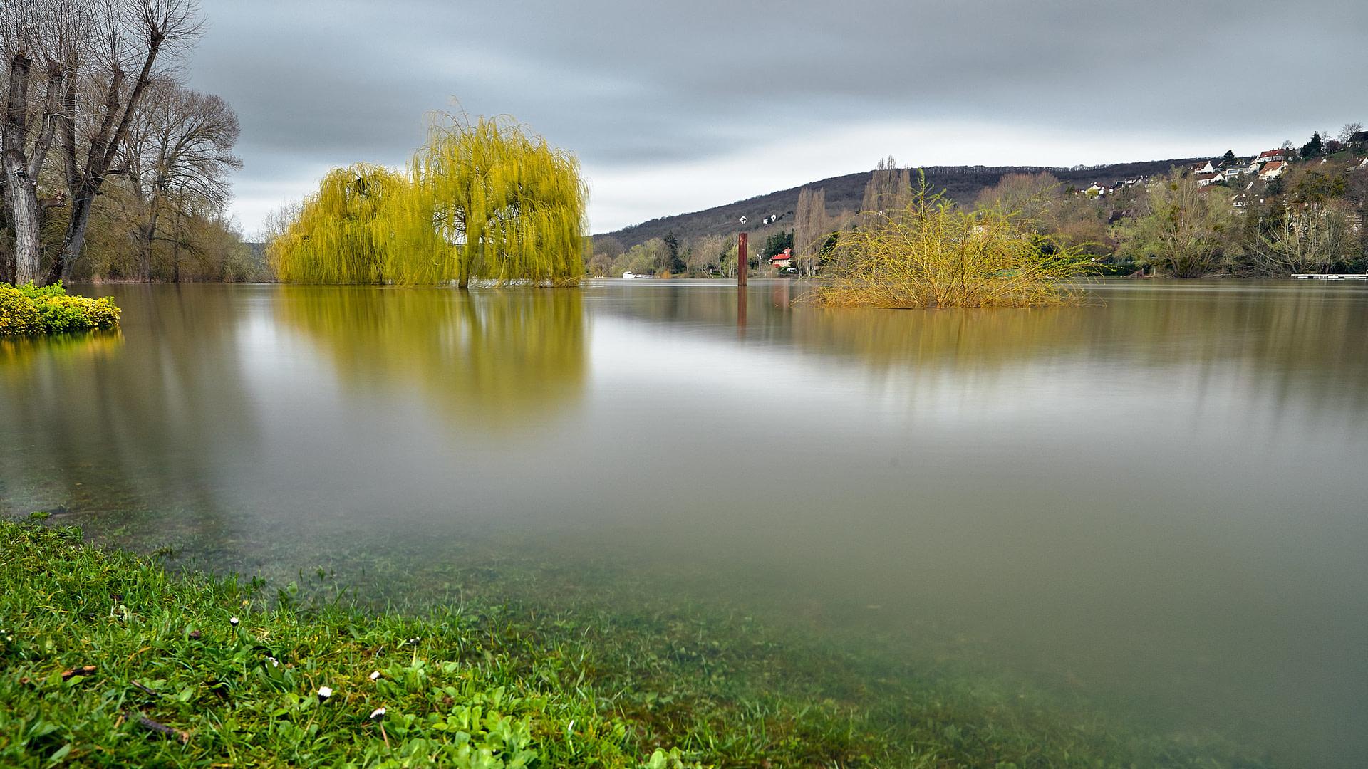 TRIEL • Crue de Seine – Rive Gauche